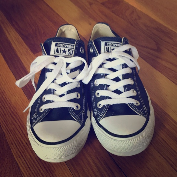 5f2fbaf45915d0 Converse Shoes - Converse Chuck Taylor All Star Low Sneaker - Navy